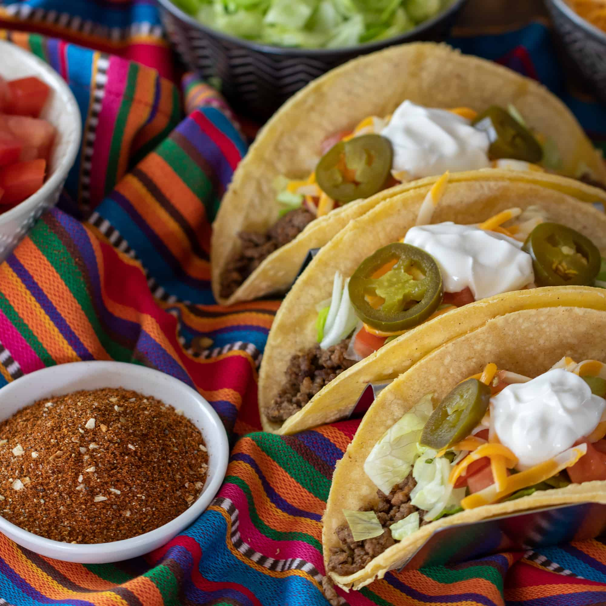 Easy recipe for how to make taco seasoning spice mix
