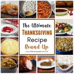 The perfect selection of recipes to help you plan a classic home cooked Thanksgiving Day holiday dinner. Turkey, stuffing, cranberries, casseroles and more!