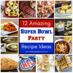 The ultimate collection of party food and appetizer recipes for an awesome Super Bowl party or other football playoff or tailgate event.