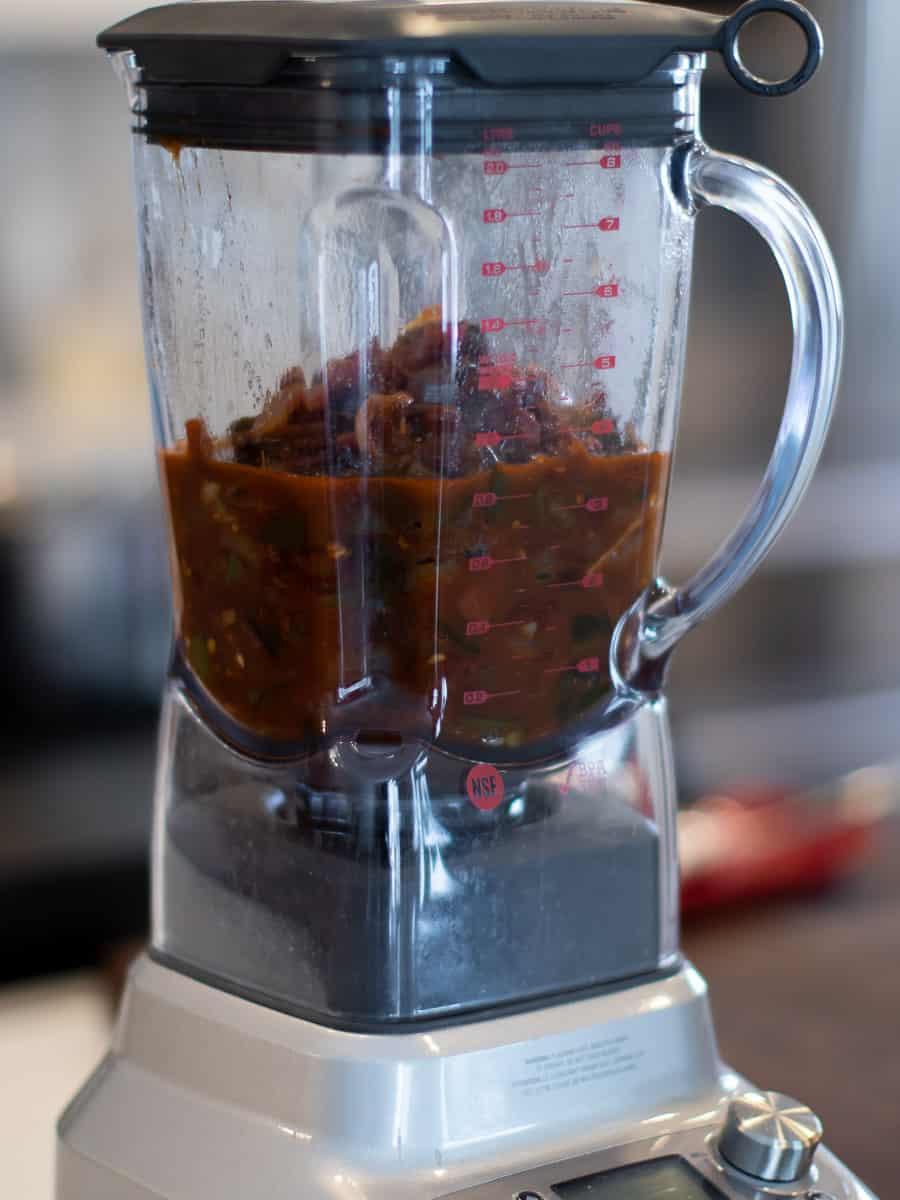 Dump all the ingredients into a blender jar
