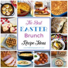 A collection of recipe ideas for an Easter breakfast or brunch.